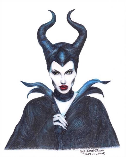 "Stunning ""Maleficent"" Artwork For Sale on Fine Art Prints"