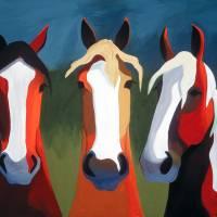 The Trio by Leslie Anne Webb