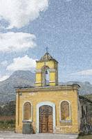 Old Stone Church in Cotacachi