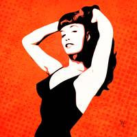 Bettie Page - Pin-up - Pop Art