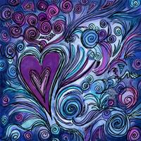 heArt #61 Purple Passion
