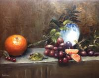 Orange and Grapes