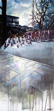 Stalemate-art-painting-chess-park-sun-city-urban-c