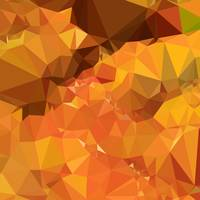 Harvest Gold Abstract Low Polygon Background