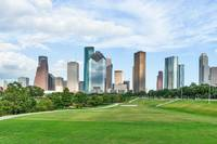Houston Skyline Landscape