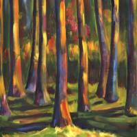 """""""Enchanted Light"""" by allisonmcgreefineart"""