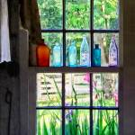 """Bottles on Kitchen Window"" by susansartgallery"