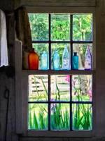 Bottles on Kitchen Window