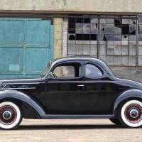 """1937 Ford Coupe, Woodie Plant, Kingsford, MI"" by minnron37"