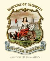 District of Columbia State Arms of the Union (1876