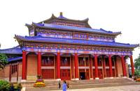 Imposing China Temple