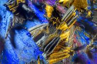 Super Macro Oil Pastel Abstract 3812, Edit D
