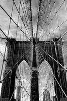 Brooklyn Bridge Monochrome