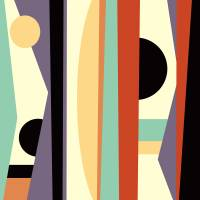 Abstract Pattern III Art Prints & Posters by Rob Colvin