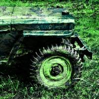 Vintage Camo Willys