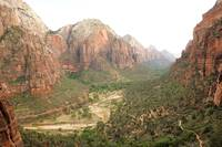Descending from Angels Landing 2