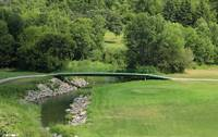 Bridge on a Golf Course