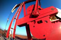 Dramatic Oil Well Pump-Oil Gas Industry Oilfield
