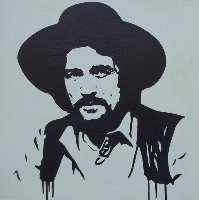 Stunning quot Waylon Jennings quot Artwork