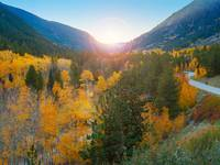 Colorado Autumn Sunset