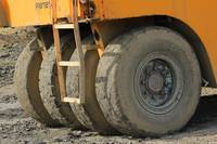 Wheels on Construction Equipment
