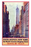 Vintage New York Travel Poster #5