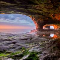 Lake Superior Sea Cave Art Prints & Posters by Craig Sterken