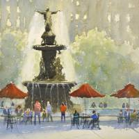 """Fountain Square"" by JudyMudd"