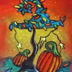 Autumn Celebration III, Panel 1 by Juli Cady Ryan