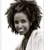 Ethiopian Lady Art Prints & Posters by Bob Bozarth