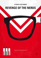 No504 My Revenge of the Nerds minimal movie poster