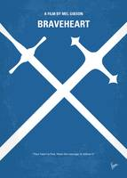 No507 My Braveheart minimal movie poster