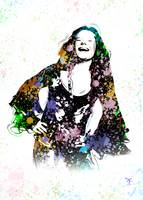 Janis Joplin - Piece Of My Heart - Pop Art