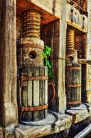 Vintage Wine Press HDR
