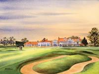 Muirfield Golf Course 18th Green