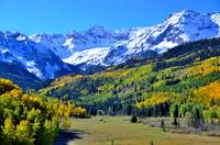Colorado Mountains in the Fall