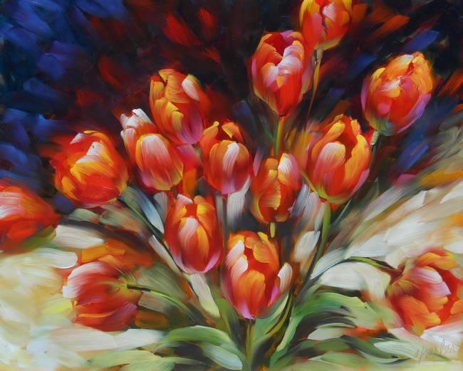 Brilliant Tulips