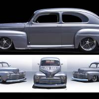"""1947 Ford Deluxe 8 Sedan"" by FatKatPhotography"
