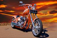 2004 H.D. 'Daddy's Dream' Chopper II