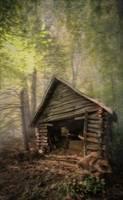 Hay Barn for the Horses by Joe Gemignani