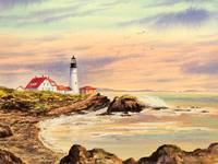 Portland Head Lighthouse Maine USA