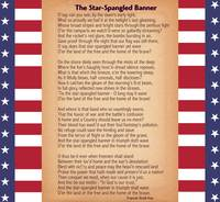 US National Anthem - The Star-Spangled Banner