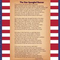 """US National Anthem - The Star-Spangled Banner"" by motionage"