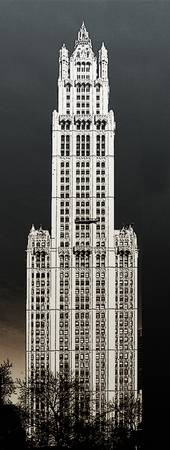 Art woolworth building by Adam Asar