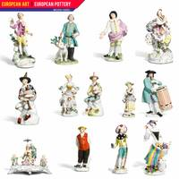 European Art, European Pottery - Meissen Figures