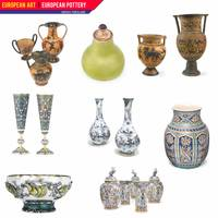 European Art, European Pottery - Various Porcelain
