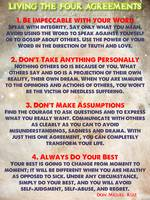 LIVING THE FOUR AGREEMENTS - Wisdom Of The Toltecs