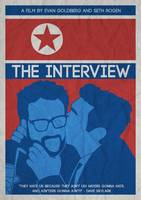 THE MINIMALIST MOVIE POSTER- THE INTERVIEW