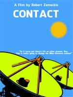 Contact Minimalist Movie Poster SML