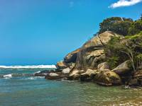 Tropical Beach of Tayrona National Park Edited